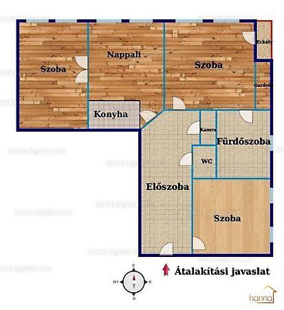 Eladó lakás, Budapest, XIII. kerület, Katona József utca: 57 ...